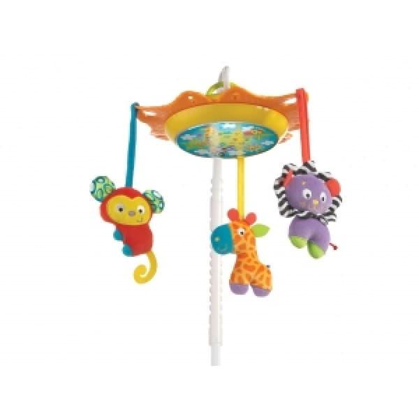 Playgro-Музикална въртележка и нощна лампа 3в1