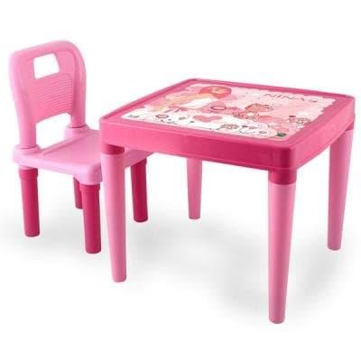 Детска маса със столче Pilsan
