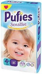 Pufies Sensitive maxi4+ 9-20кг 50 бр