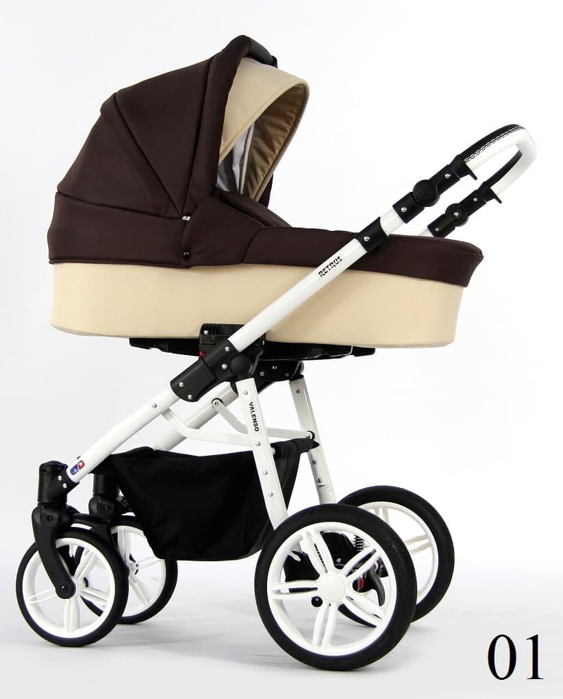 Бебешка количка Retrus Valenso 3в1 цвят:01
