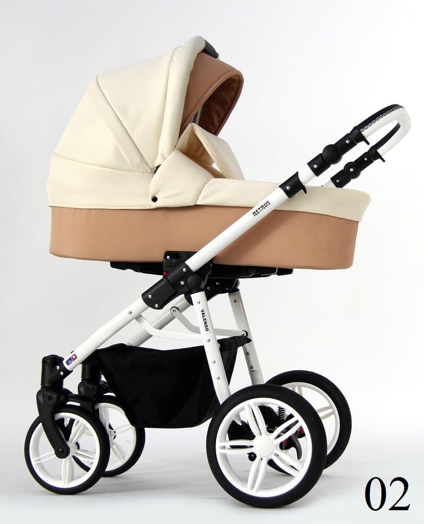 Бебешка количка Retrus Valenso 3в1 цвят:02