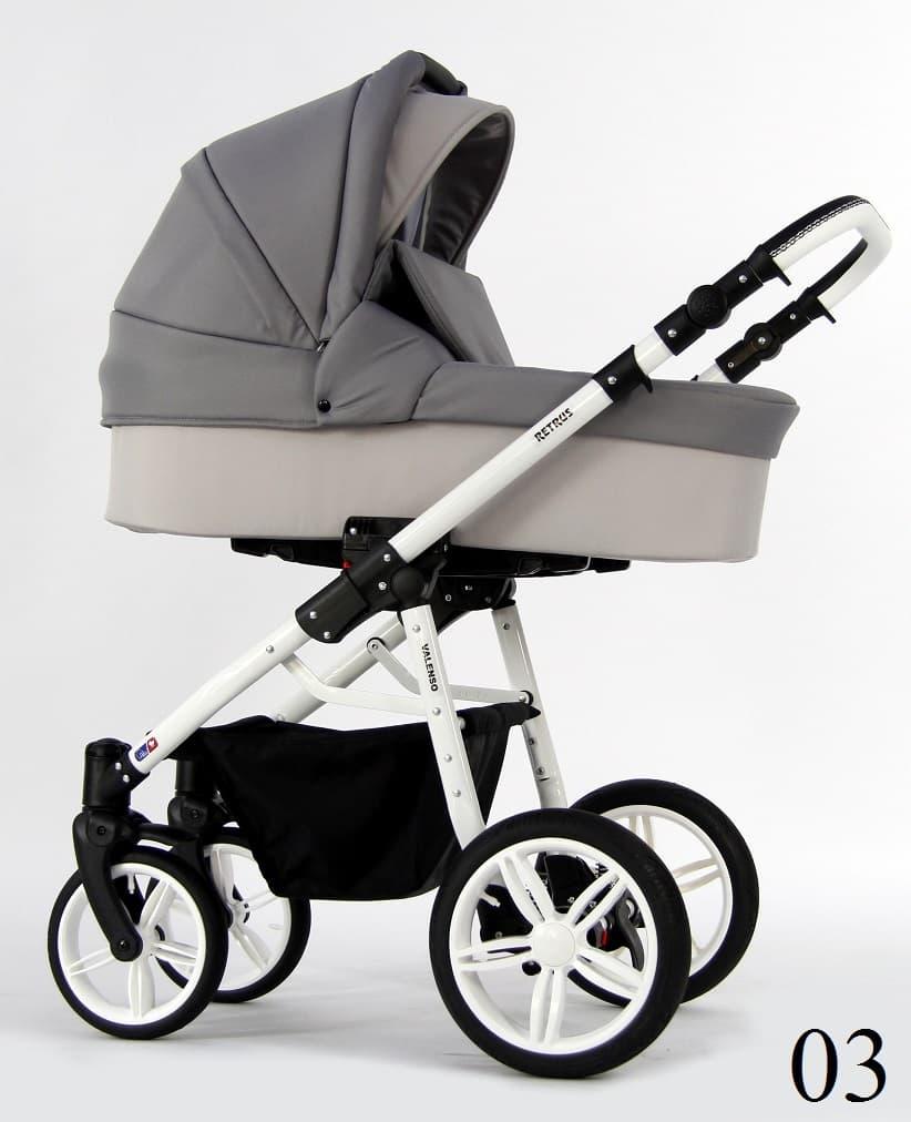 Бебешка количка Retrus Valenso 3в1 цвят:03
