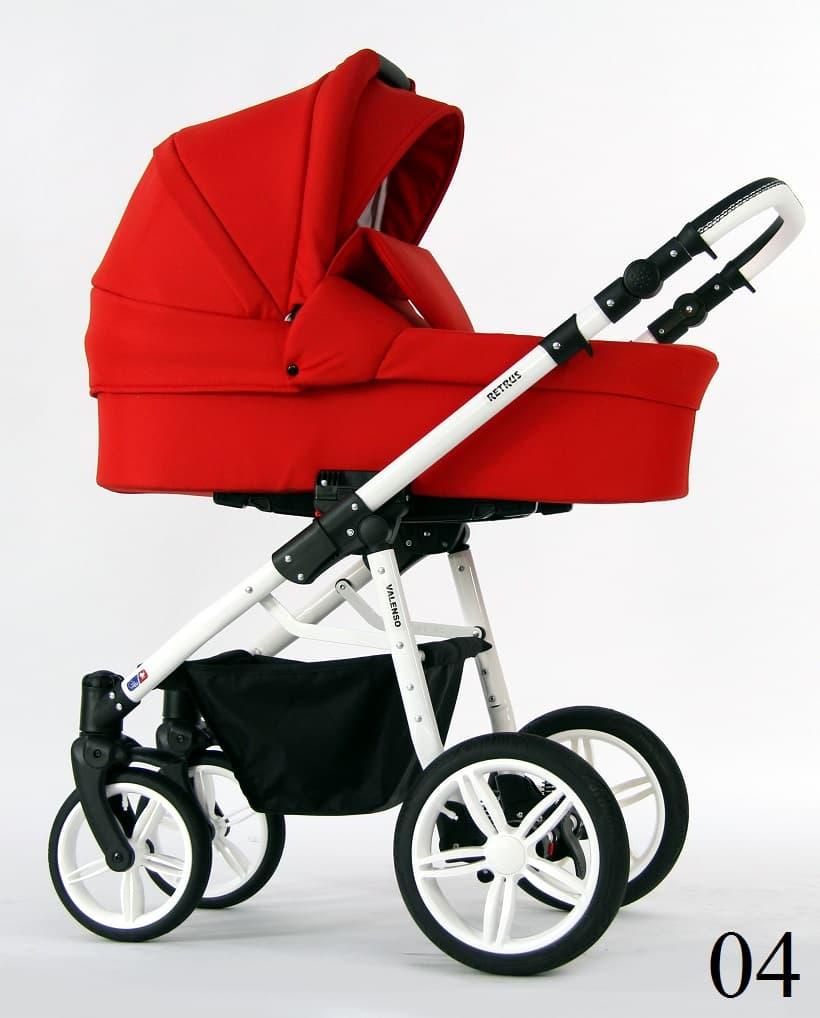 Бебешка количка Retrus Valenso 3в1 цвят:04