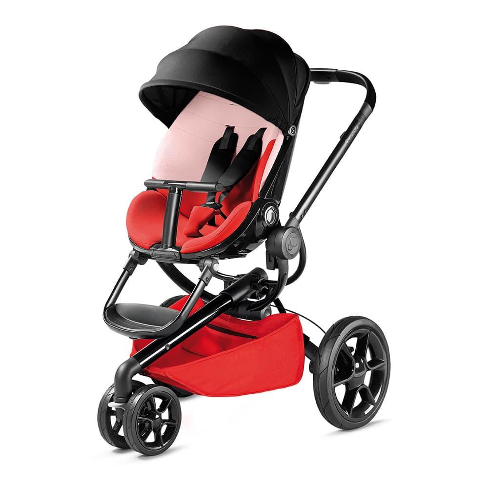 Бебешка количка Quinny Moodd 3 Reworked red