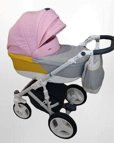 Бебешка количка 2в1 Bexa Ultra цвят:розов