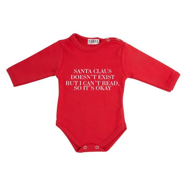 Carra- бебешко боди Santa doesn't exist