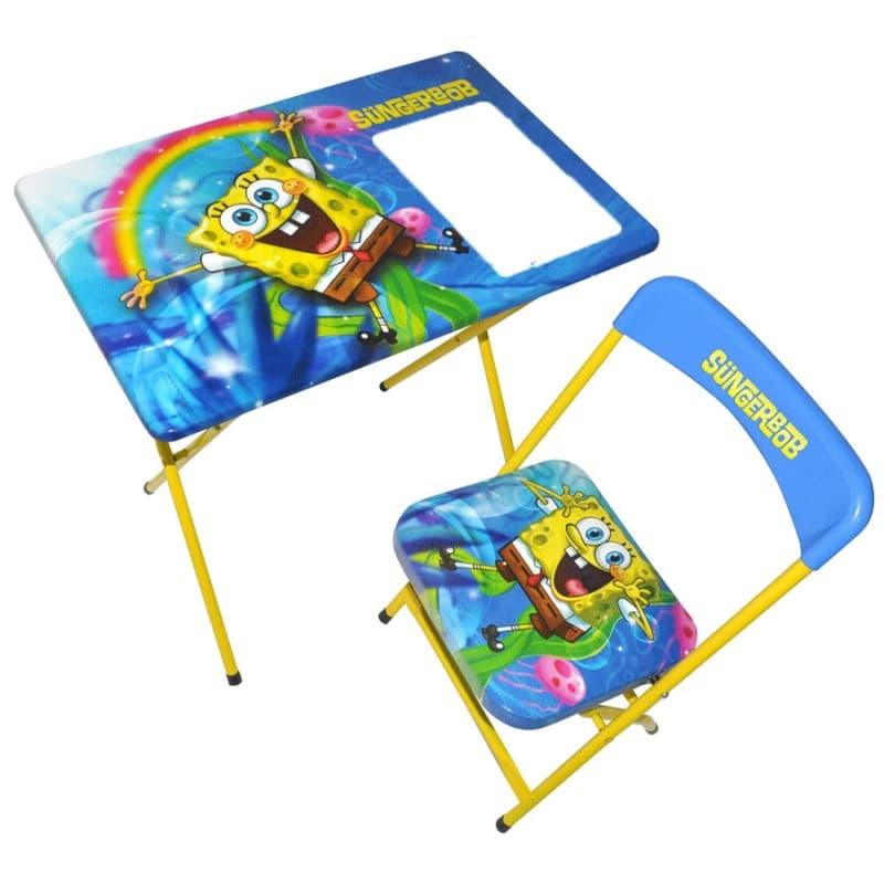 Детска маса със столче Спондж Боб