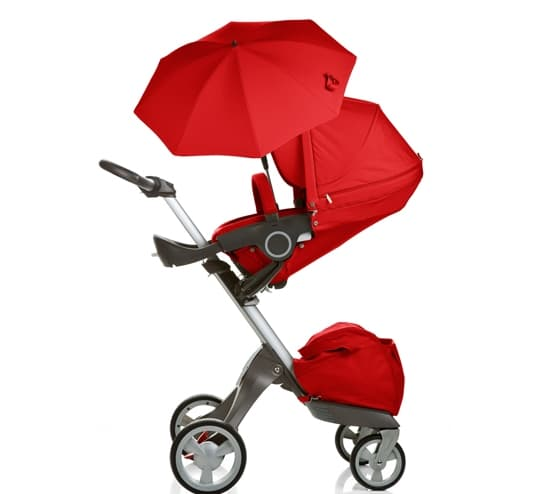 Doux bebe-чадър за количка Ultimate red