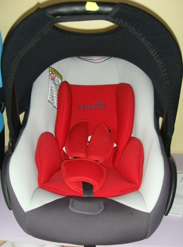 Детско столче за кола 512 Berber 0-10 кг - Цвят: Червен