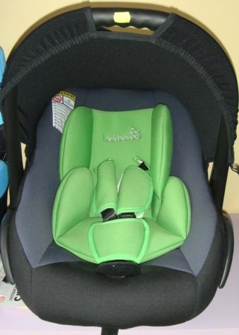 Детско столче за кола 512 Berber 0-10 кг - Цвят: Зелен