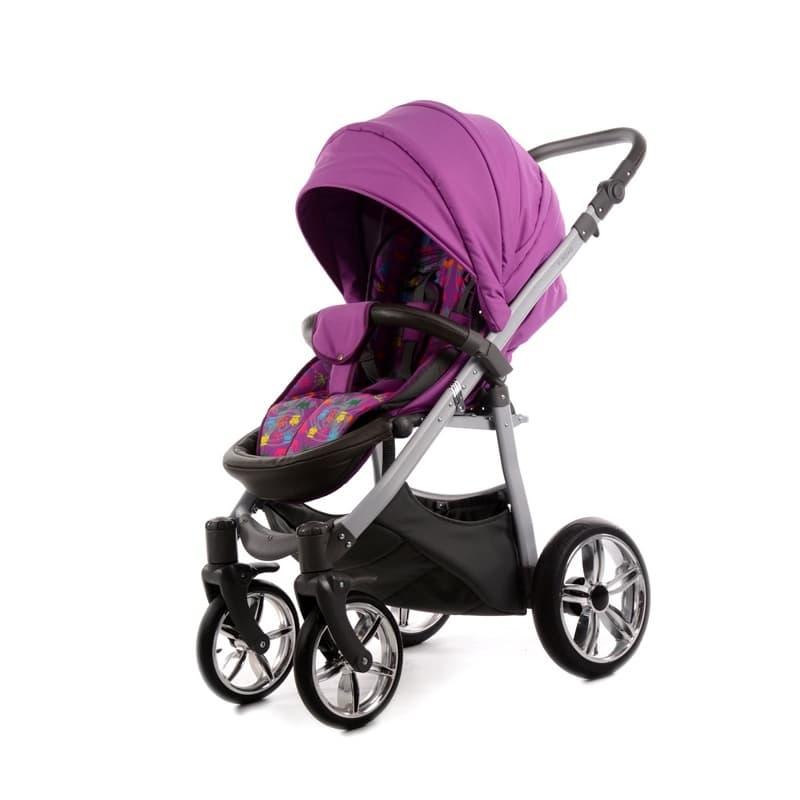 Бебешка количка Tako V-Road цвят:лилав