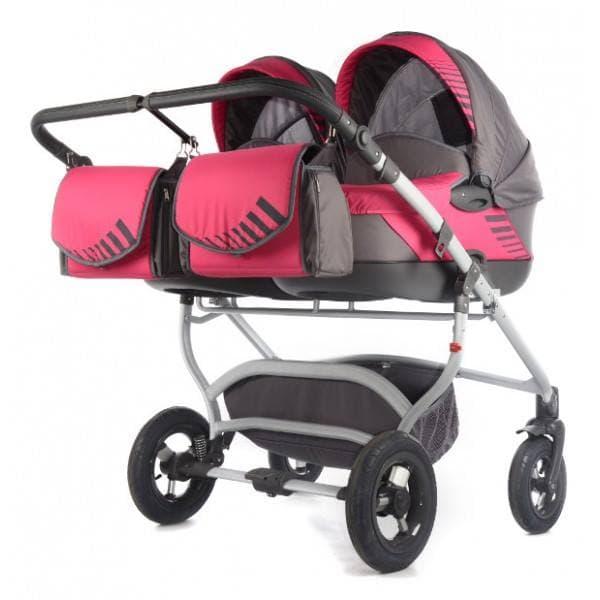 Бебешка количка за близнаци 2в1 Jumper Duo Light Tako