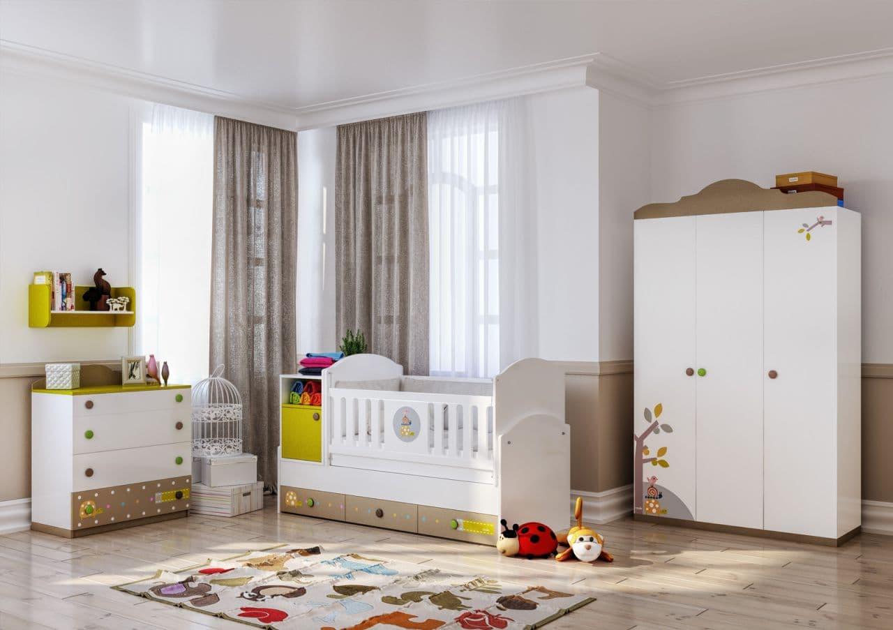 Обзавеждане за детска стая Tinny Coalo