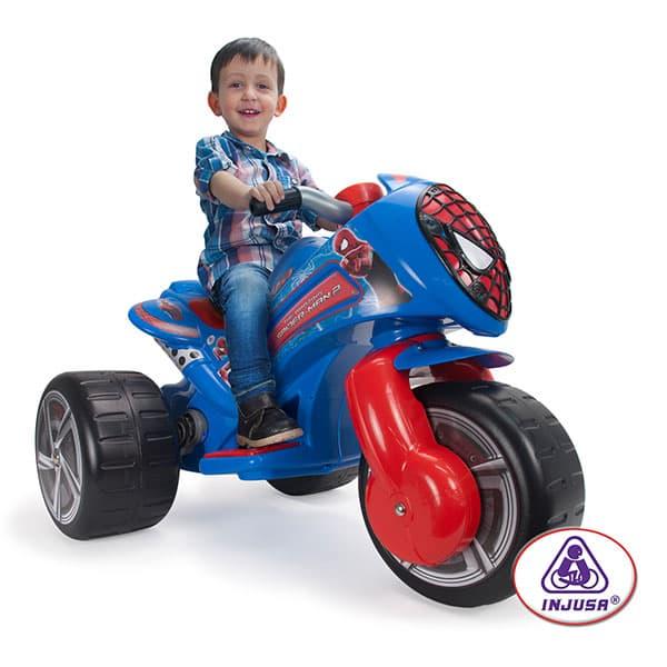 Акумулаторен мотор Tribike Spiderman 6V