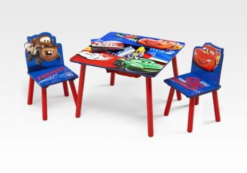 Детска масичка с 2 столчета Cars
