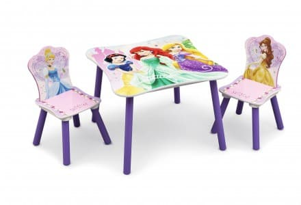 Детска масичка с 2 столчета Princess