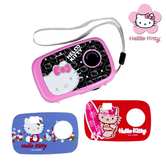Детски фотоапарат Hello Kitty със сменяеми панели