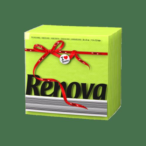Renova-зелени салфетки Е