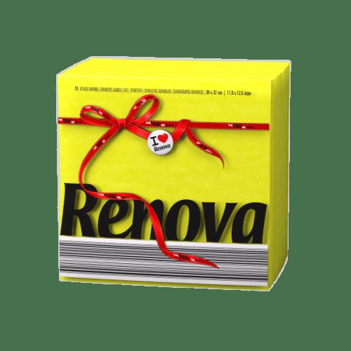 Renova-жълти салфетки Е