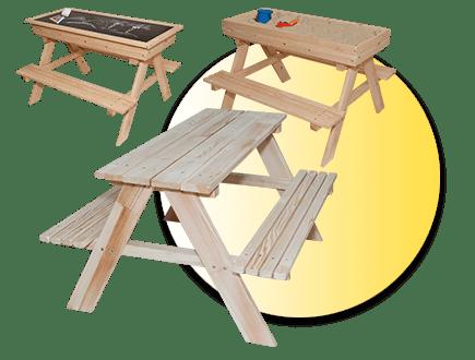 Градински дървен комплект Z0T