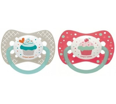 Canpol-залъгалка силикон Cupcake 0-6м