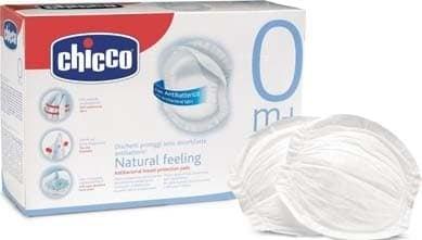 Абсорбиращи антибактериални подплънки 30 броя Chicco