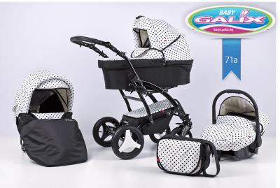 Adbor-Бебешка количка 3в1 S-Line цвят:71а