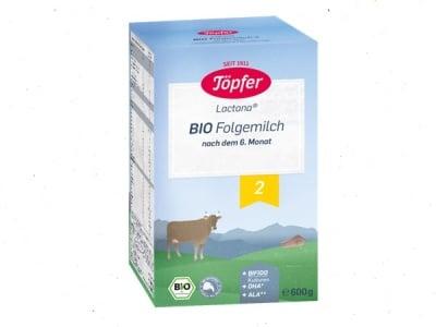 Lactana BIO2 с пробиотици 6м+ 600гр