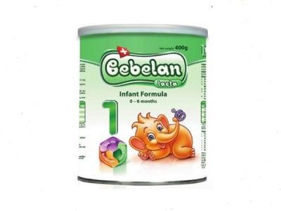 Bebelan Lacta1 -адаптирано мляко 0-6м 400гр