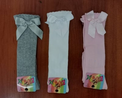 Детски чорапки 3/4 момиче 5 годинки