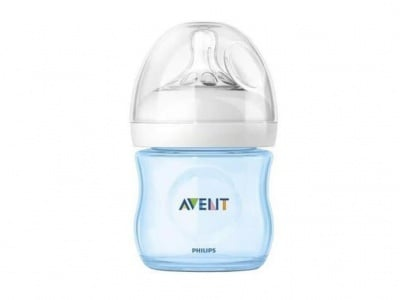Avent-шише РР 125мл Natural Blue/Pink