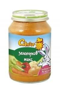Слънчо-Зеленчуков микс 4м+ 190гр