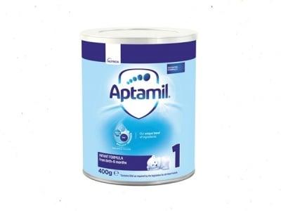 Aptamil1-адаптирано мляко  0-6м 400гр