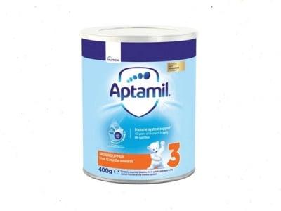 Aptamil3-адаптирано мляко 12м+ 400гр