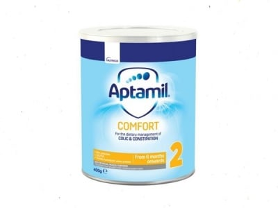 Aptamil Comfort2- адаптирано мляко 6-12м 400гр