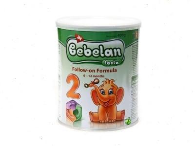 Bebelan Lacta2 -адаптирано мляко 6-12м 400гр