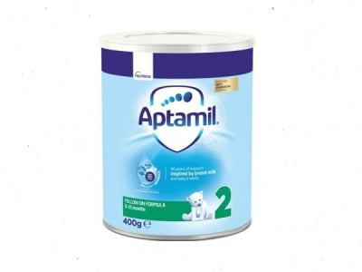 Aptamil2 -адаптирано мляко  6-12м 400гр