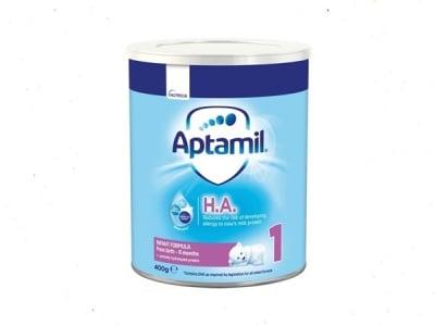 Aptamil HA1- адаптирано мляко 0-6м 400гр
