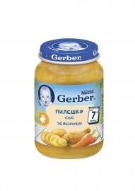 Gerber- зеленчуци с пиле 6м 190гр