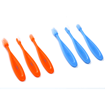 BabyOno-Комплект за почистване на зъбки 566