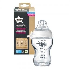 Tommee Tippee-Шише стъкло Easi-Vent 0m+ 250ml
