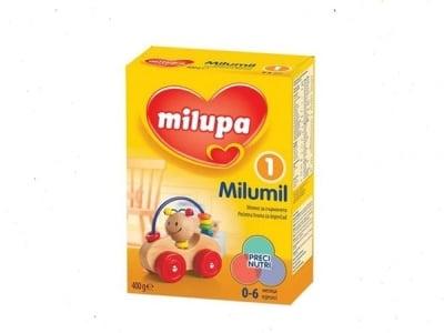 Milumil1 -адаптирано мляко 0-6м 400гр