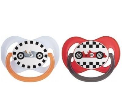 Canpol-залъгалка силикон Racing 0-6м