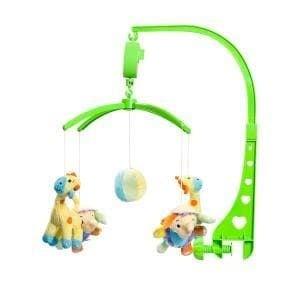 Музикална играчка за детско легло Жирафче