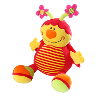 Бебешка играчка с дрънкалка Калинка 991