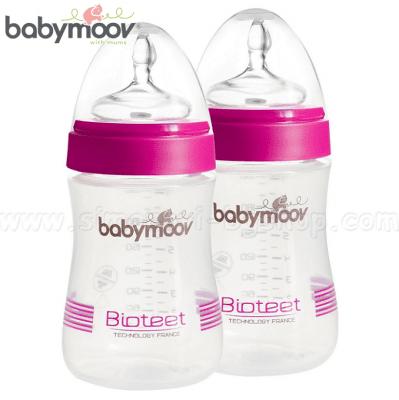 Комплект 2 шишета x 230 ml Bioteet розов