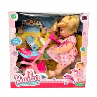 Кукла с количка и бебе