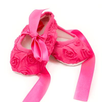 Carra-бебешки обувки Cyclamen roses