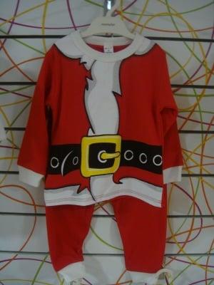 Коледен комплект блузка и панталон