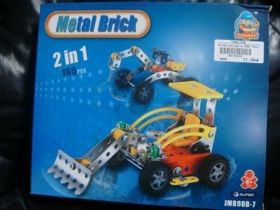 Метален конструктор 2в1 165ч